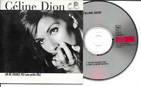 CD Single - Céline Dion ‎– On Ne Change Pas (Une Petite Fille) Label: Columbia