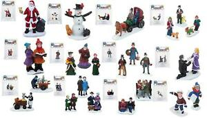 Miniature Christmas Village Characters Multipack Build Your Own Village Scene