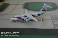 Jet-X American Airlines British Aerospace BAe-146 Old Color Diecast Model 1:200