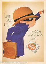 Postcard: Vintage Advertising Posters - Fleer Dubble Bubble Gum (2014)