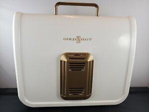 "Gold N' Hot Compact & Portable Ionic Soft Bonnet Hair Dryer w/ 40"" Flexible Hose"