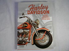 HARLEY DAVIDSON 1997 Hard Cover Coffee Table Book History, Custom Bikes