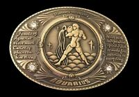 Aquarius Horoscope Zodiac Water Sign Belt Buckle Belts Buckles