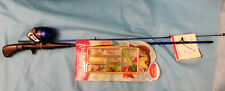 South Bend Fishing Pole Rod Reel Outfit Kit Ready-2-Fish Hooks Lures Brand New