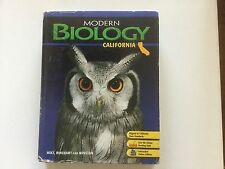 Biology, Grade 9: Holt Modern Biology California by Hopson, Hrw and Joh