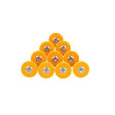 "10Pcs 26mm Nylon Fiber Grinding Head T-Type Abrasive Rotary Tool 1/8"" Shank 240#"