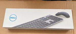 Dell KM717-GY-LTN SPANISH Premier Wireless Bluetooth Keyboard Mouse & Receiver