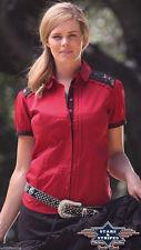Hüftlang Damenblusen,-Tops & -Shirts im Blusen-Stil mit Baumwollmischung ohne Muster