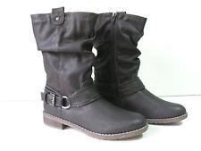 Normale-Weite-(F) Damenstiefel & -Stiefeletten im Boots-Stil aus Kunstleder für Freizeit
