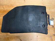 NEW GENUINE FORD FUSION FRONT RUBBER FLOOR MATS 2002 TO 2012 NOS # 1446606