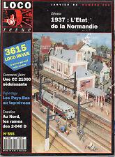 ** Loco Revue n°555 CC 21000 / Couverts G3 / 2-040 D / 230 K Fuel