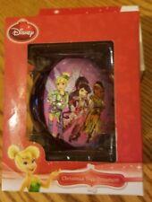 NEW Disney Fairies - Glass Ball Tree Ornament - Christmas - Tinker Bell