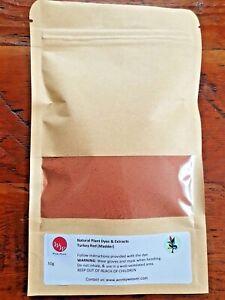 Madder Root Plant Dye Powder  - 100% natural 50g