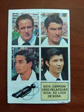 Cromo De Sosa árbitro baja liga 82 83 ediciones este temporada 1982 1983 fútbol