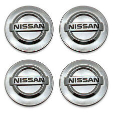 Set of 4 Silver Chrome logo Car Alloy Rim Wheel Center Hub Cap for 54mm 2 1/8""