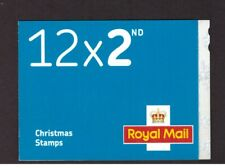 GB 2016 Booklet Christmas 2nd cylinder complete LX51 mint stamps