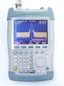 Rohde and Schwarz FSH6 100kHz - 6GHz Spectrum Analyzer 1145.5850.61