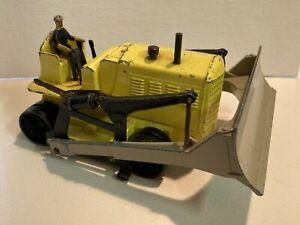 Vintage Dinky Supertoys - Rare Yellow Blaw Knox Bulldozer #961