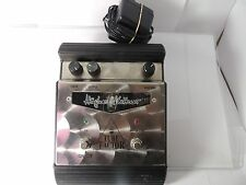 HUGHES AND KETTNER TUBE FACTOR VALVE OVERDRIVE EFFECTS PEDAL w/ORIGINAL ADAPTER
