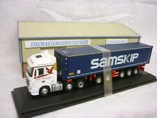 Oxford Diecast/Modern 1:76th Truck Merc MP4 Container John Mitchell 76MB004