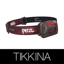 Linterna frontal Petzl Tikkina 150 lumenes rojo