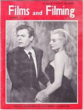 FILMS AND FILMING January 1961 - William Holden, Michelangelo Antonioni