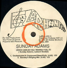 SUNDAY ADAMS - (Oohh Oh Ah Ha) I Want To Feel En Pres. The Prince Of Dance