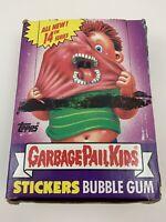 1988 Topps Garbage Pail Kids 14th Series Box 48 Wax Packs /w Poster