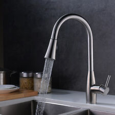 Pull Out Kitchen Faucet Single Handle Pull-Down Sink Faucet Tap Stainless steel