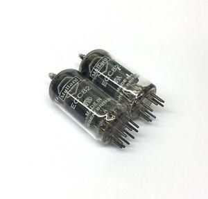 Matched Pair ECC82 NOS Mullard UK Valve Tubes