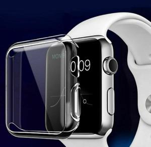 Apple Watch Series 1 2 3 4 5 6 SE Case TPU Screen Protector Thin 38 40 42 44mm