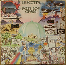 Le Scott's Post Bop Opera-SIGNED-Tea 5372-2LP PRIVATE WALLACE RONEY
