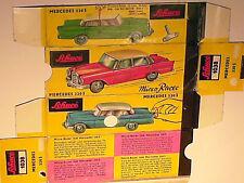 REFABRICATION BOITE MERCEDES 220SE 1962 SCHUCO RACER