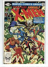 Uncanny X-men Annual #5 Wolverine Nightcrawler Fantastic Four 9.2