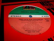 """JULIAN LENNON-TOO LATE FOR GOODBYES X2/LET ME BE 12"""""""