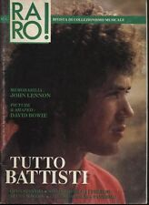 RARO! 1989 ANNO II N°1 TUTTO BATTISTI OPUS AVANTRA JOHN LENNON MIKE OLDFIELD