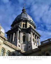 Illinois, Capitol Building-Color Fine Art Photo-8x10-COA-SIGNED!