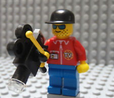 LEGO Local National News TV Cameraman with Camera
