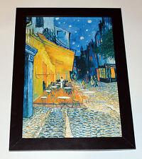 "VINCENT VAN GOGH ""The Cafe Terrace""  MUSEUM QUALITY CANVAS PRINT poster"