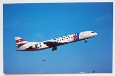 Air City Aerospatiale SE210 Caravelle 10B3 postcard
