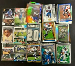 (BARRY SANDERS) (20 Count) (FOOTBALL CARDS) No Duplicates 20 Card  LOT INVEST!