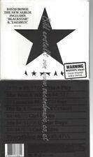 CD--DAVID BOWIE | --BLACKSTAR