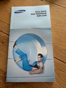 samsung dual ba nd GSM telephone SGH-A300 manual