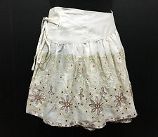 CULT VINTAGE '80 Gonna Donna Etnica Cotton Kilt Etnic Woman Skirt Sz.S - M