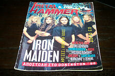 METAL HAMMER MAGAZINE 10/1996 IRON MAIDEN RUSH WARLORD