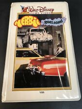 Disney-Herbie Rides Again (42VS) VHS (White Clam Shell) Rare