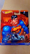 HOTWHEELS DC UNIVERSE SUPERMAN CUSTOM '52 CHEVY NEW IN PACKAGE