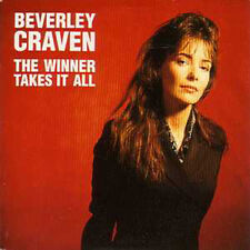 CD Single Beverley CRAVEN ABBA	The winner takes it all  2-Track CARD SLEEVE RARE