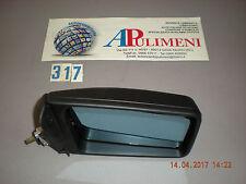 811857502G SPECCHIO RETROVISORE (MIRROR) DX MECCANICO AZZ. NERO AUDI 80 81->85