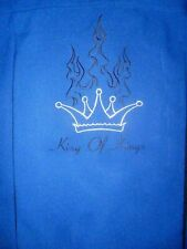 SPANISH HARLEM CHOCHIE 50s STYLE FLAME BUTTON KING of KINGS BOWLING SHIRT